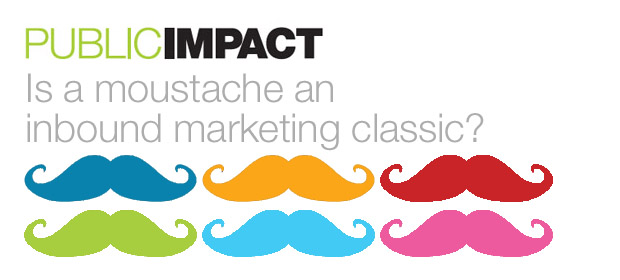 Movember classic not-for-profit inbound marketing?