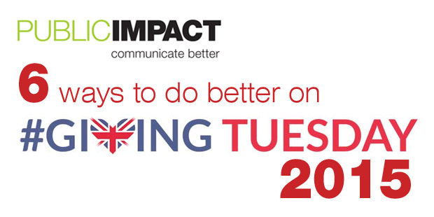 6 ways to do better on #GivingTuesday 2015