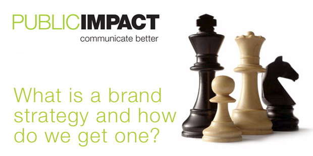 What is a brand strategy and how do we get one?