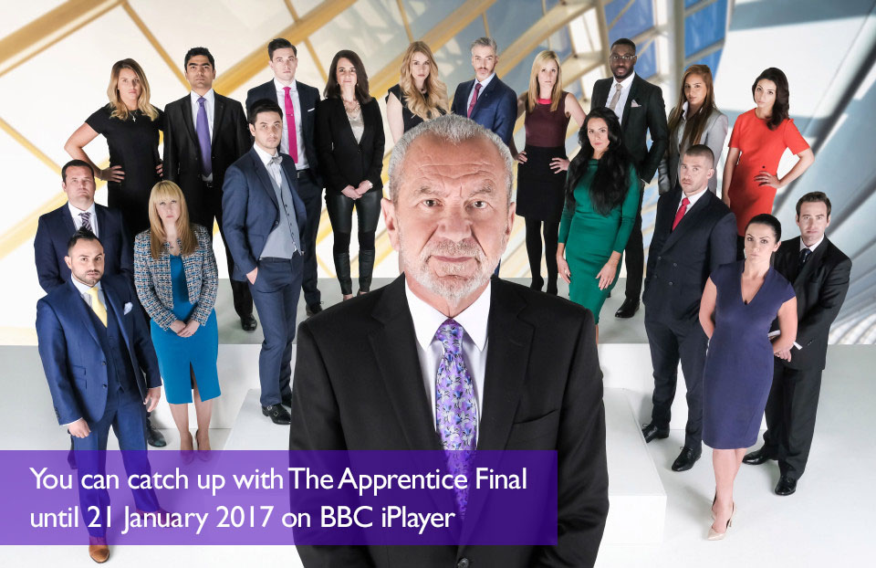The Apprentice Final: Learning to Present