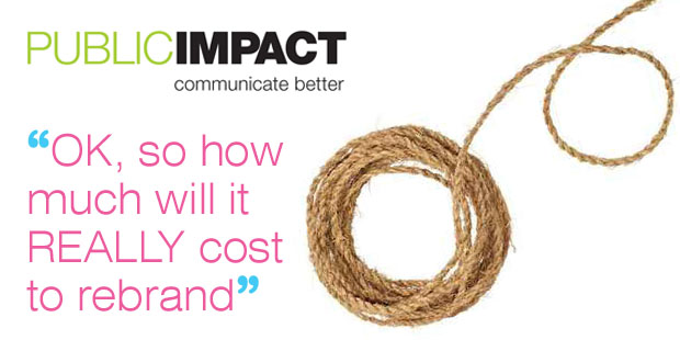 How much does it cost to rebrand a not-for-profit